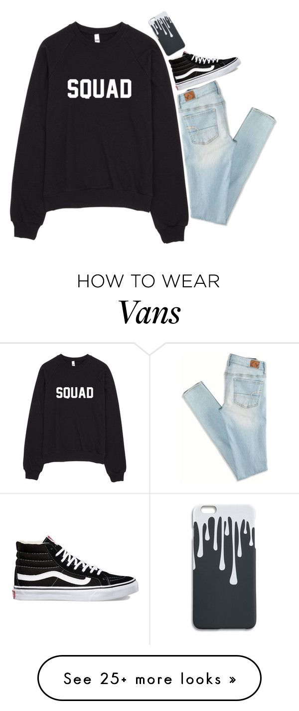 """Going to a News Boys Concert!!!!! "" by graciegirl2015 on Polyvore featuring American Eagle Outfitters and Vans"