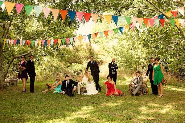 Pimp Your Wedding!: {Ze tuto DIY} Une guirlande de fanions sans machine à coudre