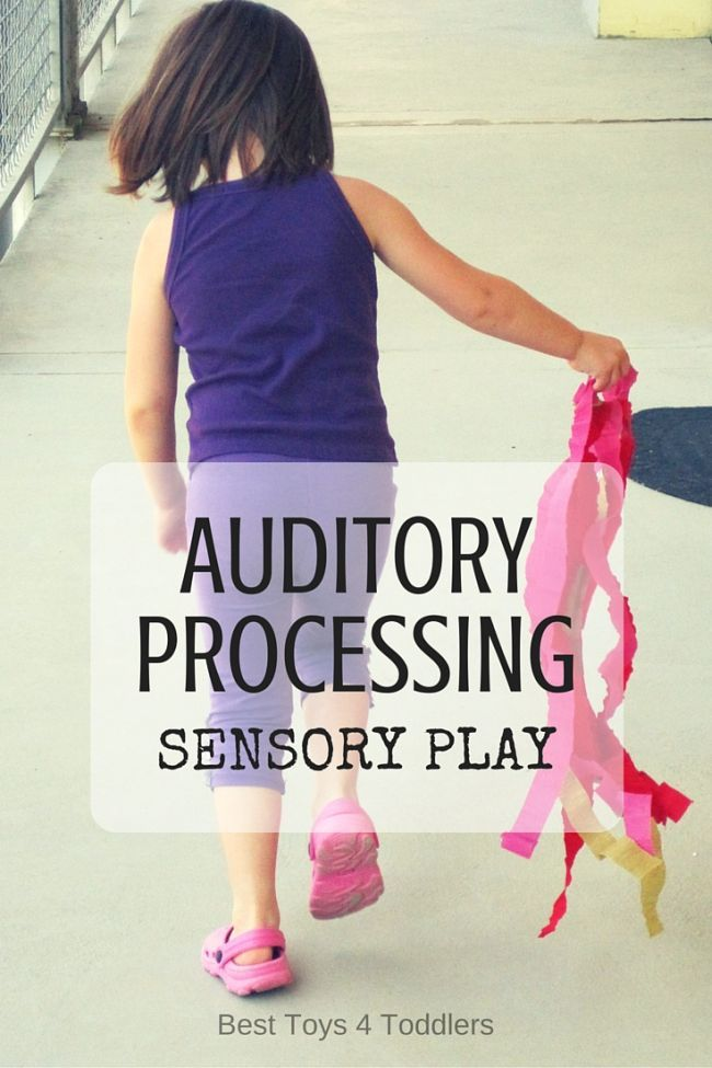 Best Toys 4 Toddlers - Auditory processing sensory play activities that can promote listening and early literacy skills