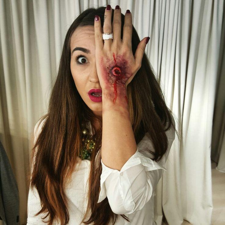 Brasov Beauty Lounge Halloween makeup #cristina camarzan makeup