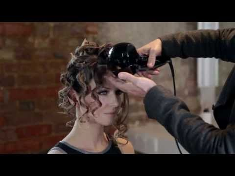 #Curly quiff tutorial… You can recreate this look sans this tool. Try Tonging it! (curling iron) wrapping the hair around the barrel of the curling iron holing it vertically and allowing the curl to cool before dropping it. Lovely up-do style. ▶ How to Create... The Curly Quiff with the BaByliss PRO Perfect Curl - #hair #beauty #babyliss #curlyhair