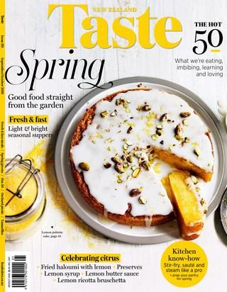 Taste (New Zealand) 9/10 2016  Taste (New Zealand) Sep/Oct 2016 | 132 pages www.foodtolove.co.nz