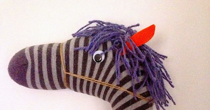 Pool Noodle Sock Horse!    This is a little project that I made for Felix for his second birthday. It came about because he was 'riding' a...