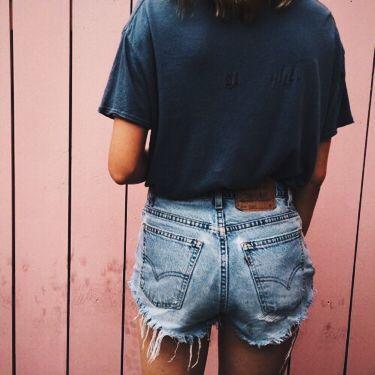 Vintage dark blue Levi's cut offs 558, 27 waist, button up, denim, unisex, relaxed fit, shorts, summer, festival shorts, classic