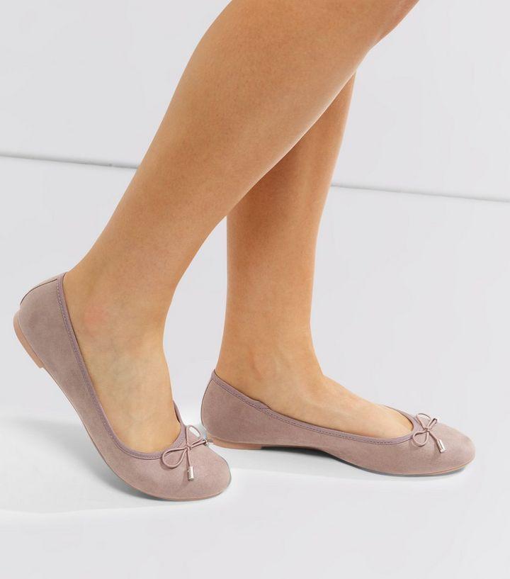 Light Brown Ballet Pumps    New Look