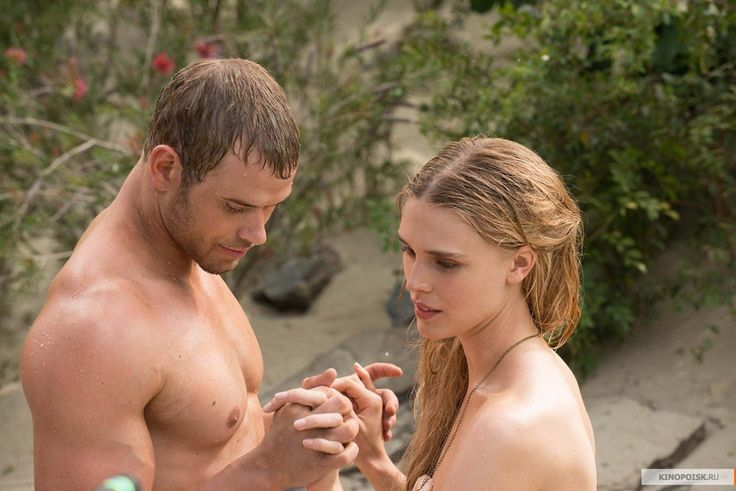 "Kellan Lutz and Gaia Weiss in ""The Legend of Hercules"""