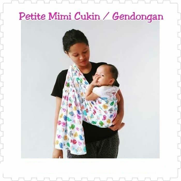 Gendongan Cukin Petite Mimi Motif Di Era Modern Ini Banyak Sekali