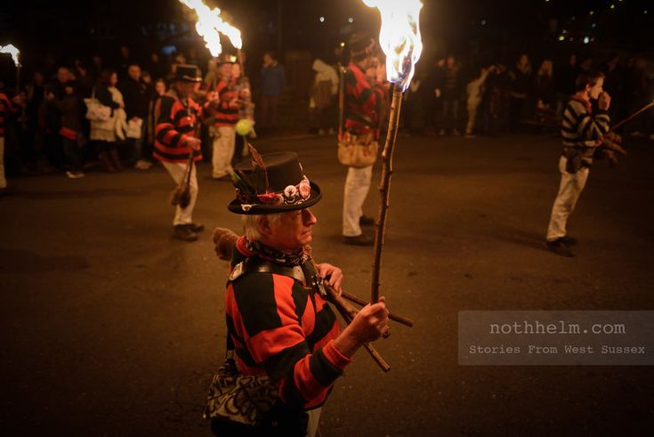 Bonfire night in West Sussex, England. Photo © Scott Ramsey / nothhelm.com