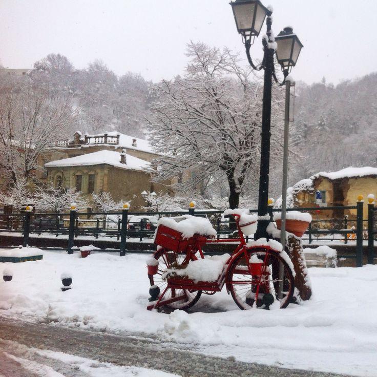 Florina_Greece, sakoulevas river, winter