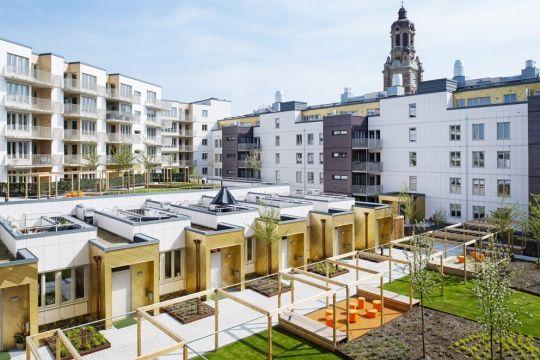 FOJAB arkitekter / Triangeln bostadsgårdar