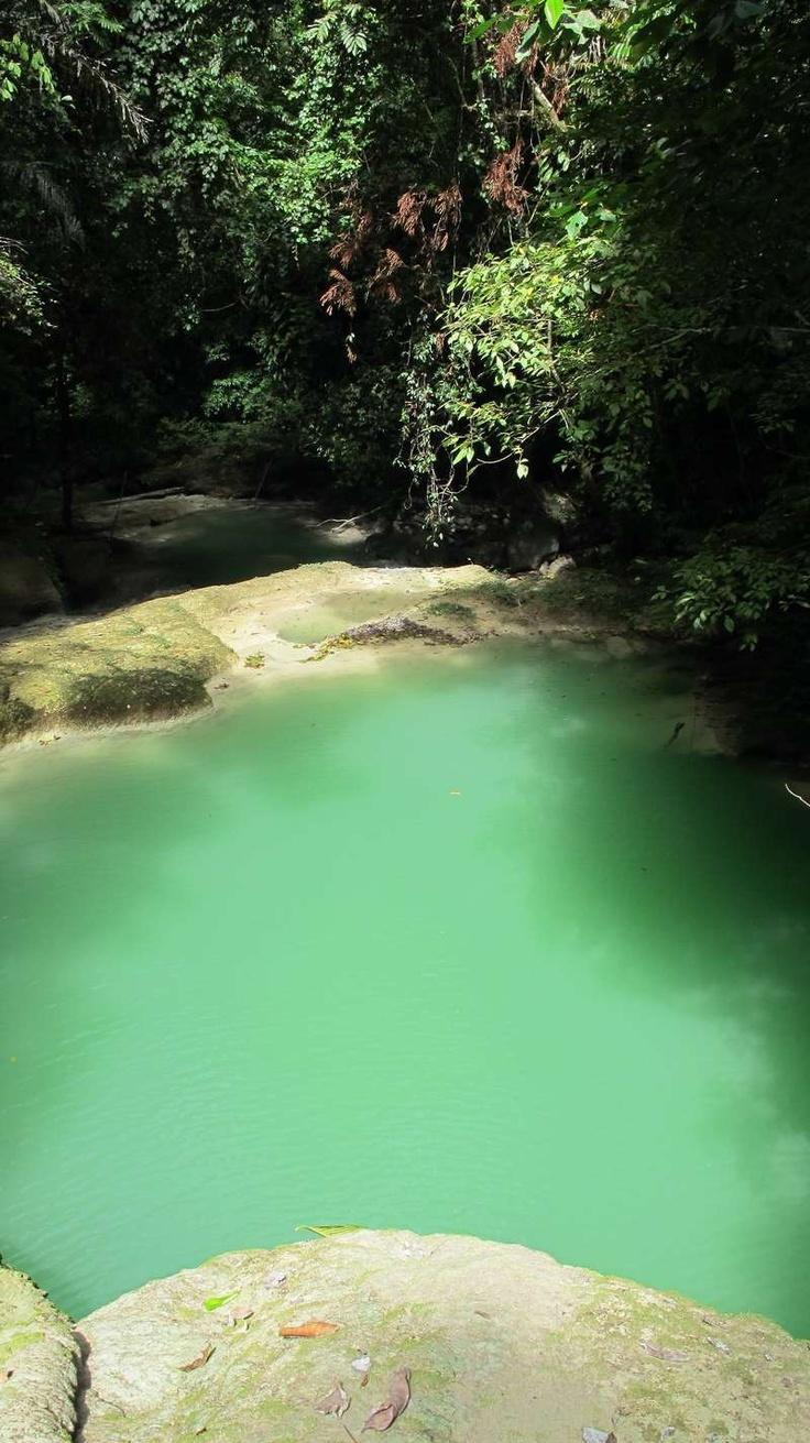 Soom Waterfalls , Teluk Sumbang , Kalimantan