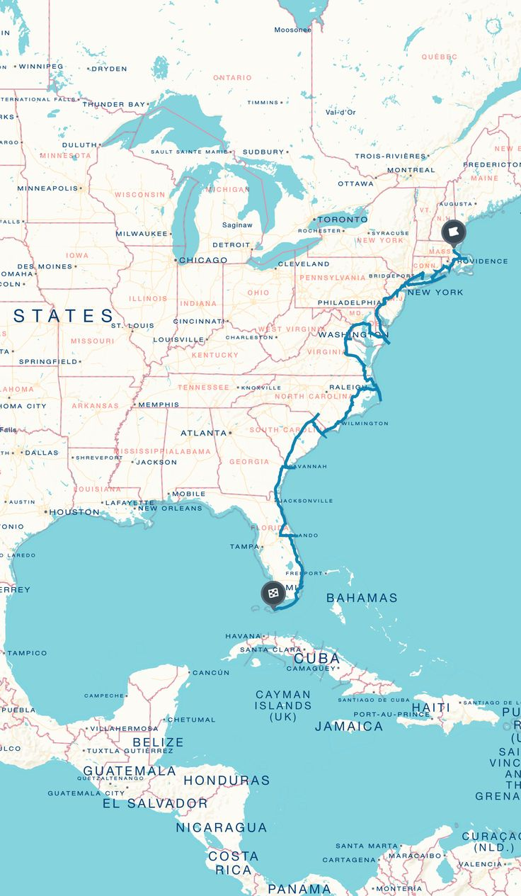 Usa Map East Coast Laminatoff Us Interstate Highway Map Stock