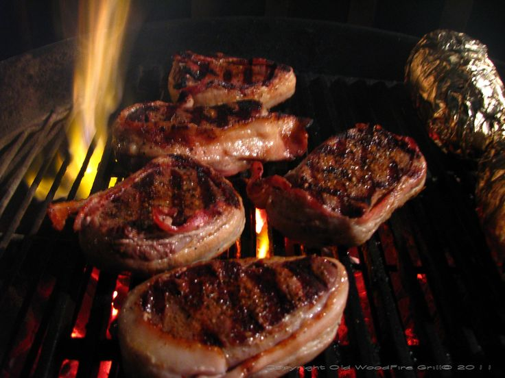 You want to cook these steaks just as you woulda beef steak, over a searing hot fire. Description from oldwoodfiregrill.com. I searched for this on bing.com/images