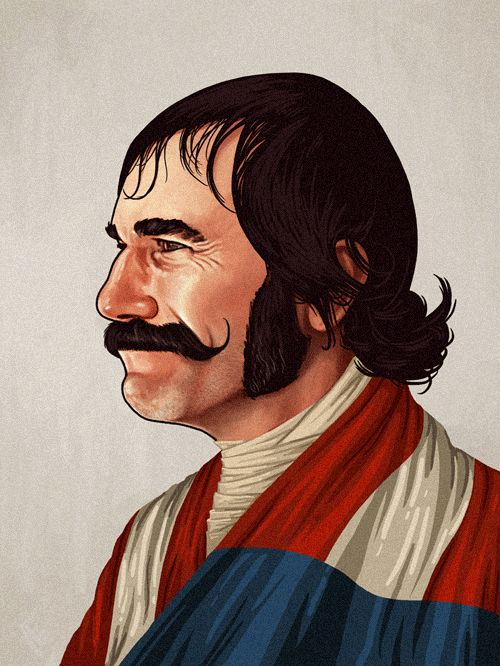Bill 'The Butcher' Cutting (Daniel Day-Lewis) from Gangs of New York by Mike Mitchell