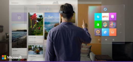 Microsoft unveils Windows Holographic, HoloLens