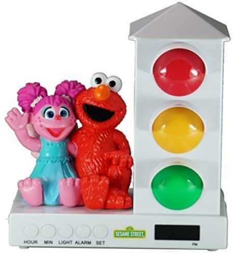 Alarm Clocks 79643: It S About Time Stoplight Sleep Enhancing Alarm Clock For Kids, Elmo And Amp: -> BUY IT NOW ONLY: $68.49 on eBay!