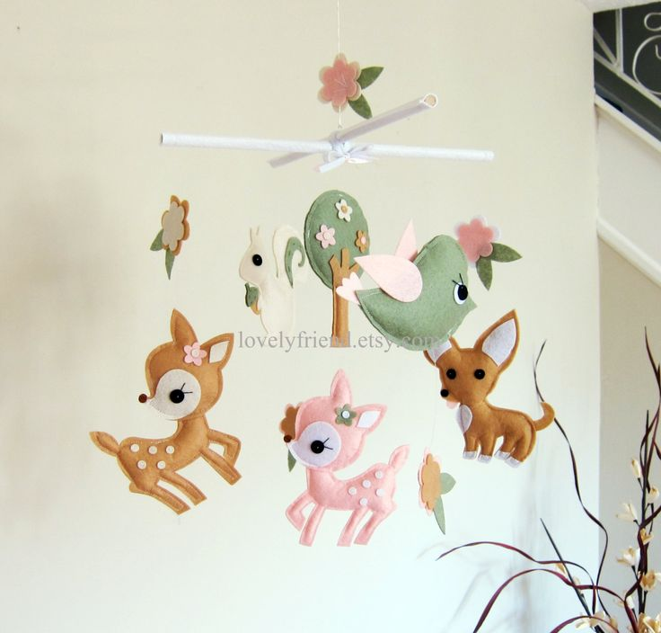 Customize Baby Mobile - Deer and Chihuahua Theme Nursery Crib Mobile - Baby Neutral Crib Mobile (Choose your color) by lovelyfriend on Etsy https://www.etsy.com/listing/246611889/customize-baby-mobile-deer-and-chihuahua