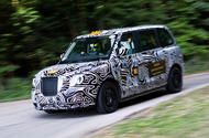 Exclusive: first ride in new LEVC TX Black Cab taxi  Cropley had ride in taxi up Goodwood hill  We flagged down a new London cab for a world-first passenger ride - up the Goodwood hill  Its quite bizarre to hear that that the LEVC TX aka the new London taxi is on test as we speak in the wilds of Arizona and the Arctic. How confusing must it be for sun-baked cowboys and frozen Laplanders when a common-or-garden black cab turns up on their patch out of the blue?  An equally bizarre experience…
