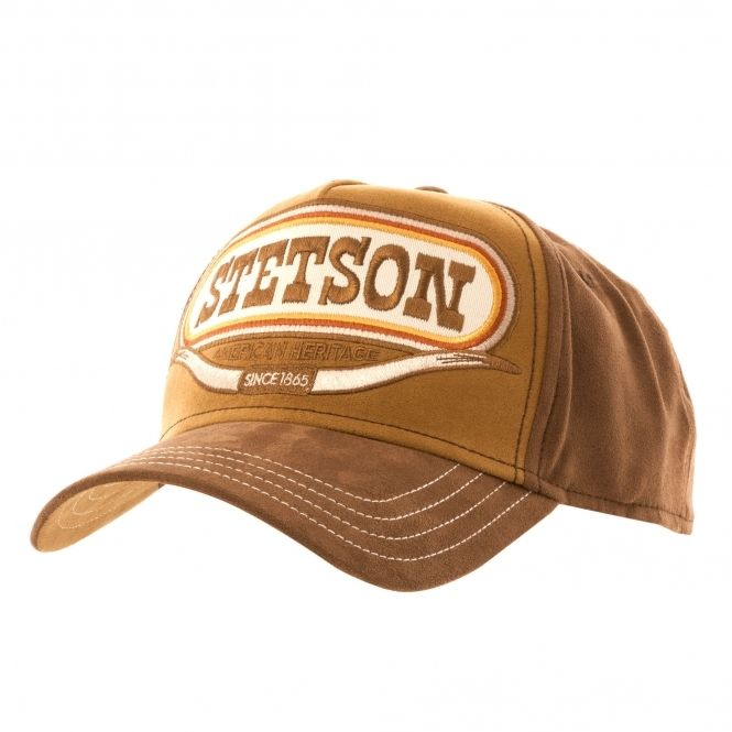 Stetson Trucker Cap Basecap Snapback Truckercap American Heritage Buffalo braun