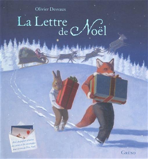 La Lettre de Noël + lettres, enveloppes et cartes