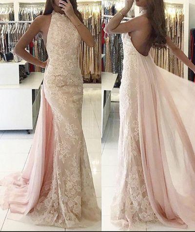 fb9c7d89fb Beautiful Light Pink Prom Dress