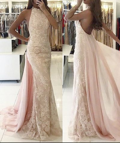 81c70a40206 Beautiful Light Pink Prom Dress