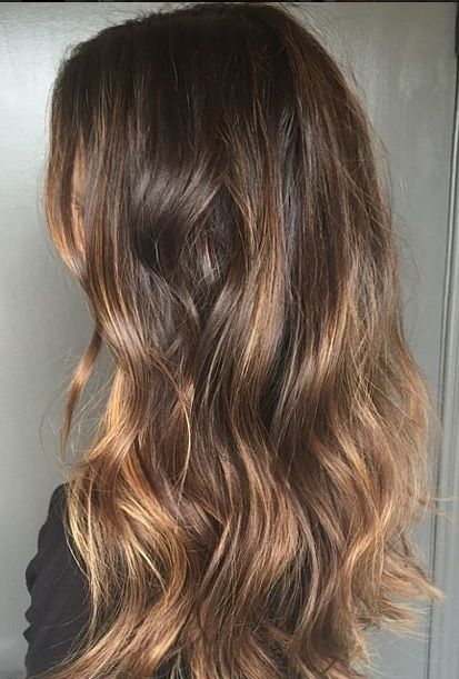 California Brunette - subtle and sunkissed highlights