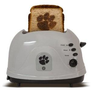 Yes! Clemson toast! I'd eat toast everyday! :)