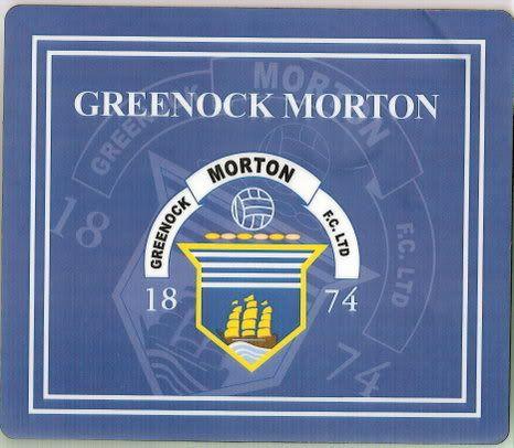 Picture Of Greenock Morton Fc Badge Wanted - General Morton ...