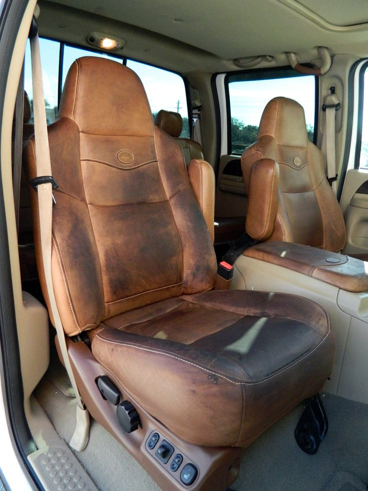 How to clean and condition ford king ranch leather auto