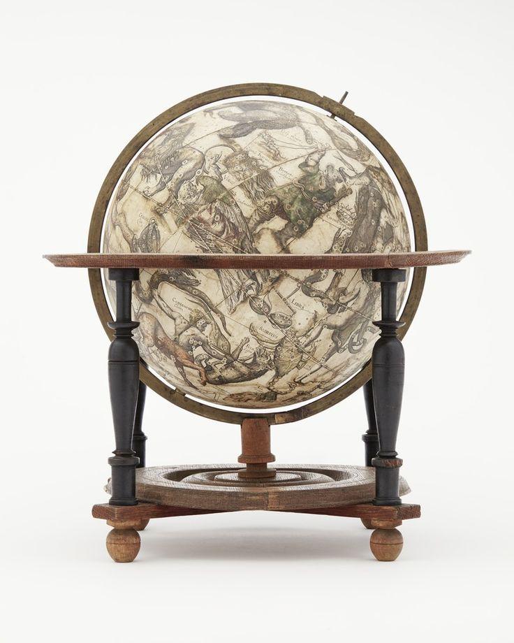 Himmelsglob med horisontcirkel zodiaken och väderstreck, 1602 - Skoklosters slott - 10550 - Constellation - Wikipedia,…