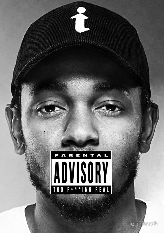 """""""Kendrick Lamar - Too Real"""" Posters by hermitcrab 