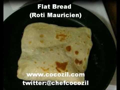 The best Roti (flat bread) I have ever made, thank you.