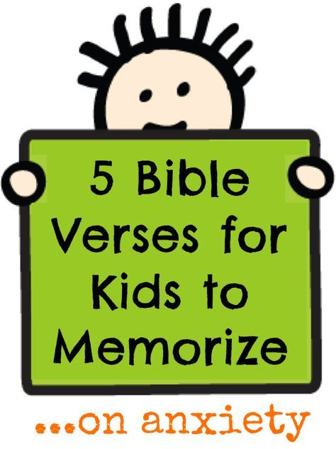 Kids (and adults) can suffer from great anxiety at times, so fill their minds with God's truth. Here are some great bible verses for kids about anxiety.