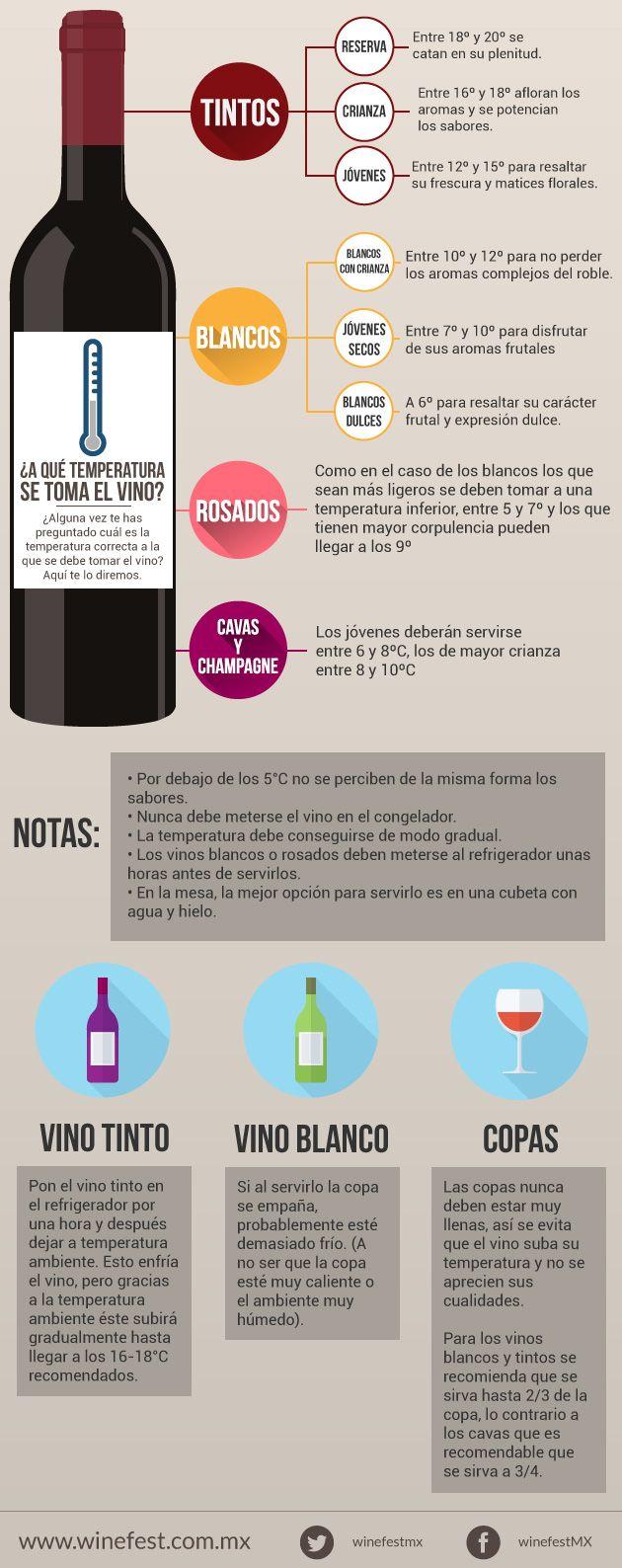 ¿Sabías que por debajo de los 5°C no se perciben de la misma forma los sabores de un buen vino? Si alguna vez te has preguntado cuál es la temperatura correcta a la que se debe tomar el vino, ¡aquí te lo diremos!