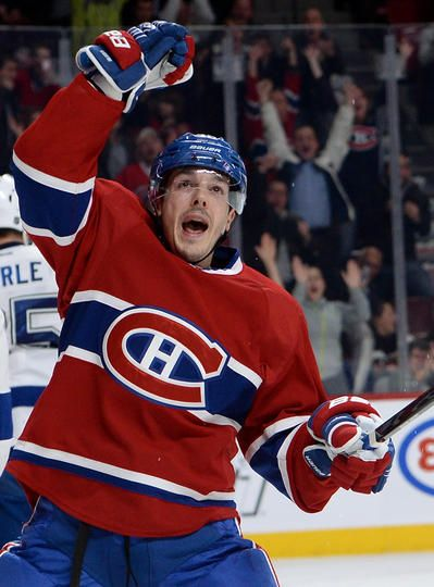 Daniel Briere #48 Montreal Canadiens