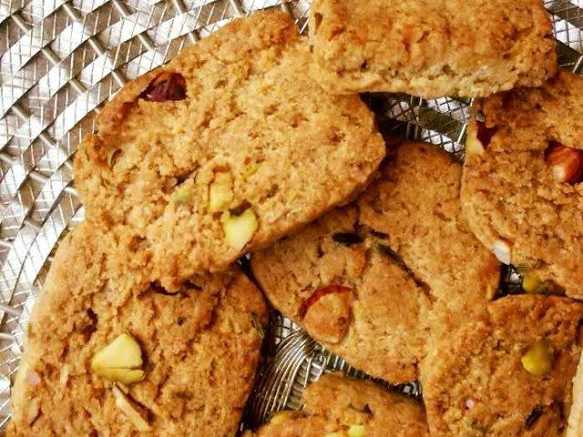 Mercury Information Management Platform: Healthy Whole Wheat Cookies With Pistachio