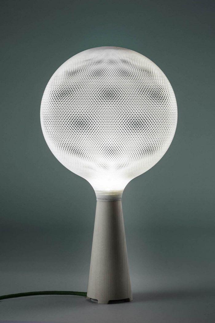 Afillia luminaire imprimé en 3D par Alessandro Zambelli