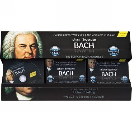 The Complete Works of Johann Sebastian Bach - Bachakademie 10th Anniversary Special Collection Hänssler Classics