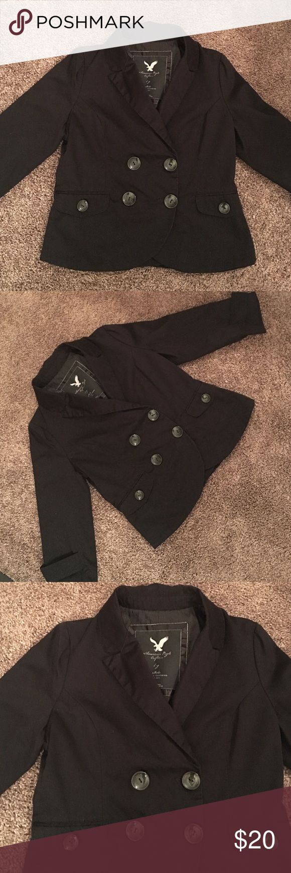 AMERICAN EAGLE JACKET Only worn a few times. In excellent condition. 100% cotton. American Eagle Outfitters Jackets & Coats