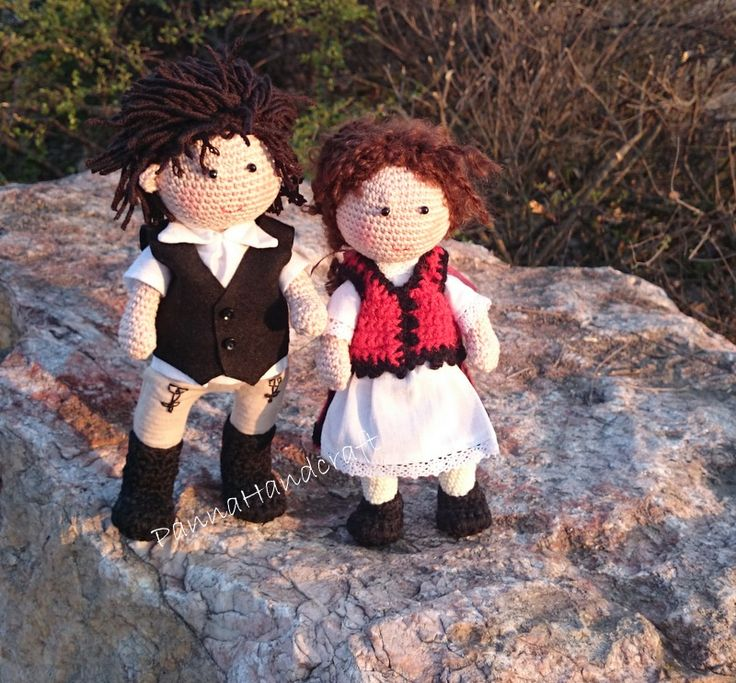 Crochet dolls  Székely babák