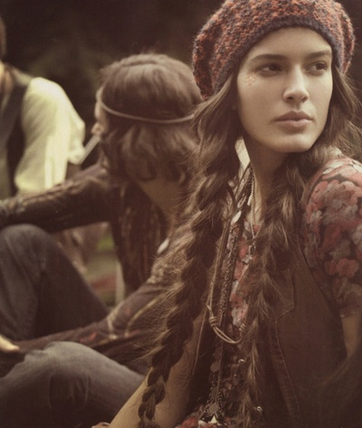 .Hippie, Long Hair, Longhair, Long Braids, Growing Hair, Boho, Knits Hats, Bohemian Style, Girls Hair