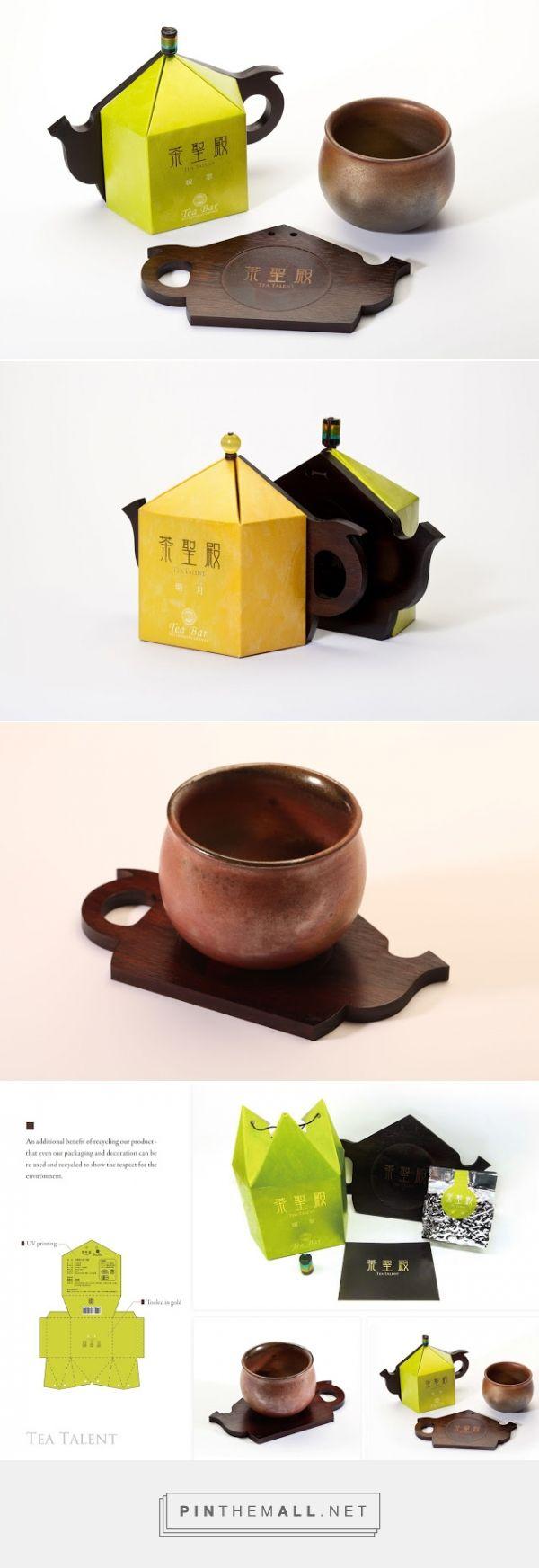 Tea Talent Packaging designed by Midea Creative Strategy (Taiwan) - http://www.packagingoftheworld.com/2016/01/tea-talent.html