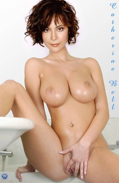 Catherine bell nude fake