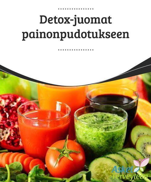 Detox-juomat painonpudotukseen  Puhdistavien ominaisuuksiensa ansioista sitruuna auttaa poistamaan myrkyllisiä aineita elimistöstä samalla kun se stimuloi aineenvaihduntaa, jotta painonpudotus olisi helpompaa.