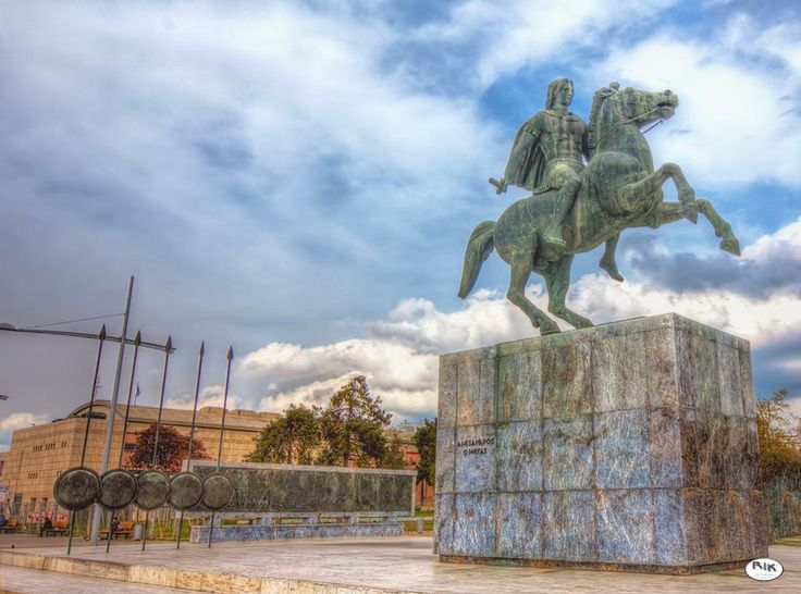 Statue of the King of the Greek Kingdom of #Macedonia - Alexander the Great - Photographer - Rik Freeman twitter: @rickfr01 http://yourshot.nationalgeographic.com/profile/97977/