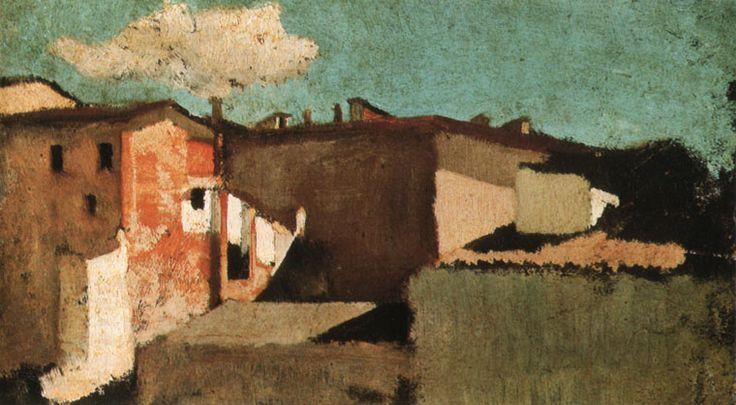 Giuseppe Abbati - tetti