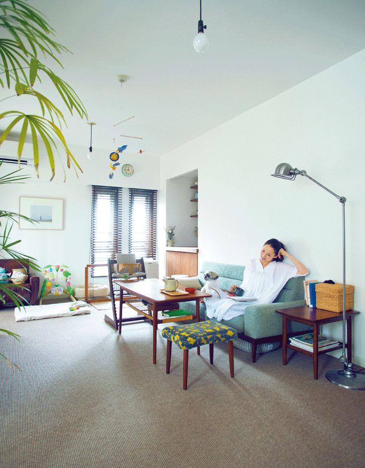【インテリア】自宅初公開!モデル浜島直子さんのこだわりリノベーションの画像 1min.LEE [1分でわかるトレンドコラム] | Antenna