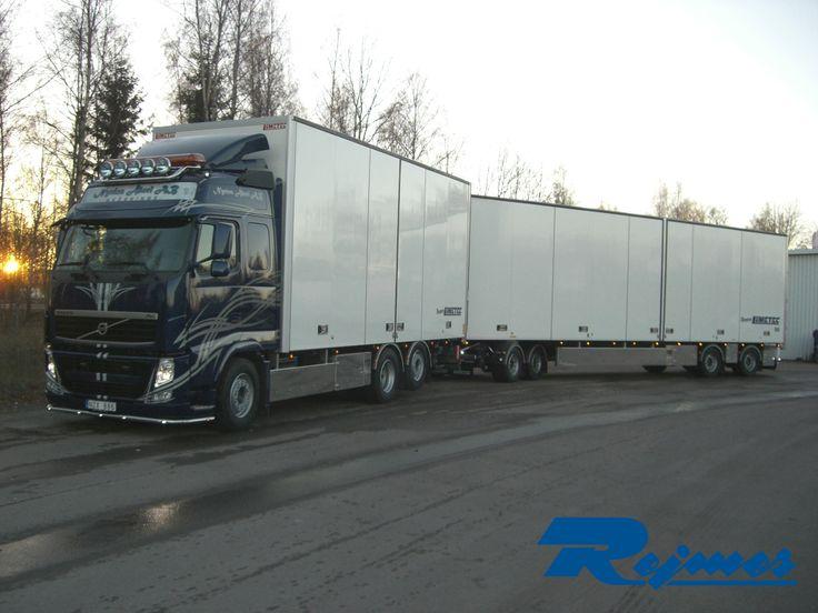 20131129 LiMETEC byggnation bil och släp Volvo FH500 6x2 Glob till Nyréns Åkeri