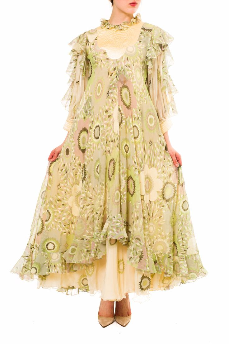 - Product Description - Measurements DETAILS This is a great piece from 1960s/1970s designer Gina Fratini of London. She is a lesser known designer however her quality is as strong if not stronger tha
